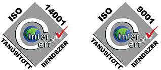 ISO 14001, ISO 9001 tanúsítványaink - QualiComp Bt.